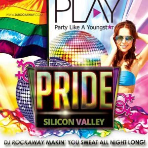 DJ Rockaway at Silicon Valley Pride